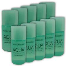 [NATURE REPUBLIC] Super Aqua Max Watery Toner + Emulsion 6ml x 5set (10pcs) New