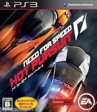 Used PS3 Need for Speed: Hot Pursuit SONY PLAYSTATION 3 JAPAN JAPANESE IMPORT