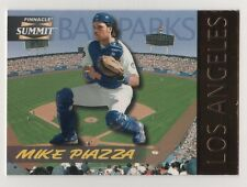 1996 Summit Ballparks #11 Mike Piazza Dodgers BV$10 #4448/8000 Insert