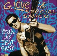 G. LOVE & SPECIAL SAUCE - Yeah It's That Easy [ECD](CD 1997) USA Import EXC