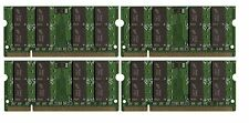 BULK LOT 8GB 4x2GB DDR2 PC2-5300 667MHz Memory SODIMM RAM for Laptops Notebooks