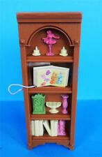 Fisher Price Loving Family Dollhouse Living Room Bookshelf w/ attached Book