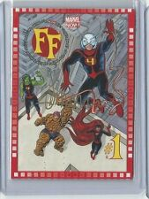 MARVEL NOW! FF #1 Matt Fraction Autograph card 107