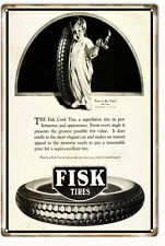 Reproduction Fisk Super Excellent Tires Sign
