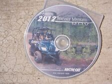 2012 Arctic Cat ATV ROV Prowler HDX Service Manual CD Compact Disc P/N 2259396 T