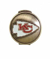 Kansas City (KC) Chiefs Hat Clip with Golf Ball Marker