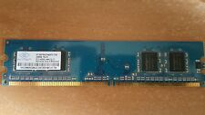 NANYA 256MB DDR2 533MHz 240-PIN PC Ram-NT256T64UH4A0FY-37B PC2-4200U-444-12-C1