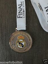 UEFA Champions League Real Madrid Champions Medal Campeones Lisbon 2014 L.E.