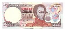 BILLETE VENEZUELA 5OOO BOLIVARES  USADO