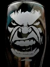 personalised glass engraved hulk pint glass 21st 18th 40th birthday gift