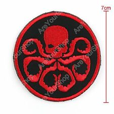 Red Man Johann Schmid Avengers Morale Airsoft Embroidered Hook&Loop Patch