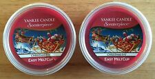 Yankee Candle 2 Christmas Eve Scenterpiece Easy Wax MeltCups