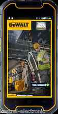 DEWALT MD501 TOUGHPHONE DUAL SIM 16GB IP68 ANDROID 4G  SIM FREE (UNLOCKED)
