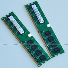 Hynix 2GO 2x1GB PC2-6400 DDR2 800 800MHZ 240PIN 2G DIMM Desktop MEMORY RAM NEW