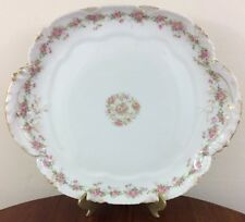 Antique Haviland Double Handled Petit Four Or Cake Plate, Schleiger 350E