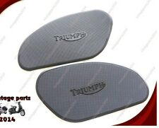 Triumph Gas Tank Rubber Knee Pad Set 82-5401 & 82-5402 500 650 T100 T120 TR6
