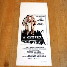IL VIZIETTO locandina poster affiche Ugo Tognazzi Michel Serrault 1978 q9