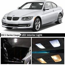18x White LED Lights Interior Package for 2006-2012 BMW E92 M3 3 Series Coupe