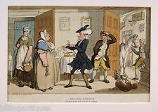 ENGRAVING DR.SYNTAX  ROWLANDSON  DR.SYNTAX DISPUTING BILL  ACKERMANS 1813