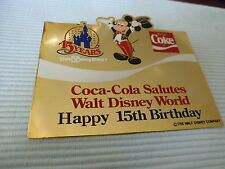 1 BIG  COCA COLA DISNEY PIN AUS DEFEKTEM RAHMEN