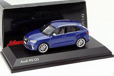 Audi RS Q3 Sepang bleu 1:43 Schuco