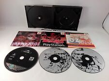 METAL GEAR SOLID + DEMO SILENT HILL PS1 PLAYSTATION 1 PAL ITALIANO COMPLETO 100%
