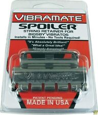 NEW Vibramate BRUSHED CHROME Spoiler String Retainer for Bigsby Tremolo Vibrato