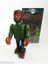 """universal Monsters wolfman Tin toy Wind Up 9"""" new in box"""