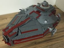Custom Lego Star Wars Imperial Patrol Ship with Commander and Crew
