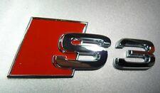 originale AUDI S3 Scritta Logo Emblema NUOVO 8L / 8P / 8V 8P0853735 2ZZ