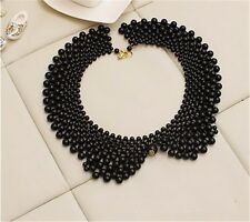 Old Fashion Women Ladies Fake Collar Faux Pearl Elegant Necklace