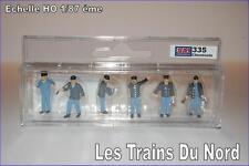 Personnage Les Cheminots échelle HO  SAI 335 SAI Collections by NOCH