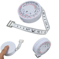 BMI Body Mass Index Retractable Band Tape Measure Calculator Diet Weight Loss
