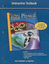 PHYSICAL SCIENCE, GRADE 8 INTERACTIVE TEXTBOOK NEW PAPERBACK BOOK