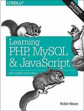 NEW Learning Php, Mysql & Javascript by Robin Nixon Paperback Book (English) Fre