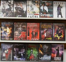 Wholesale Lot of 15 Horror DVD From Tokyo Shock Versus Tokyo Gore Police Red Eye