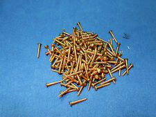 200 Stück Holzschrauben Schrauben M 2,4x17 Messing M2,4x17 Rundkopf Schlitz MS