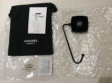 NEW Chanel MAKEUP table handbag hook carrier shopping bag keyring holder + pouch