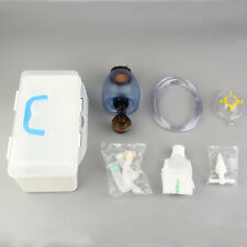 Manual Resuscitator PVC Adult Ambu Bag + Oxygen Tube First Aid kit New QT