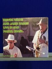 NEW UNSEALED Live in Sao Paulo, Brasil - Trevor Watts and Jamie Harris Jazz CD