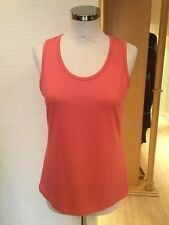 Faber Top Size 10 BNWT Coral RRP £50 Now £22