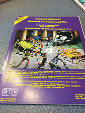 AD&D Q1 QUEEN OF THE DEMONWEB PITS DUNGEONS & DRAGONS AD&D TSR 9035