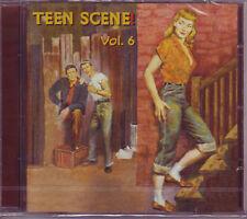 V.A. - TEEN SCENE Vol. 6 - 28 Teenage Hits on CD