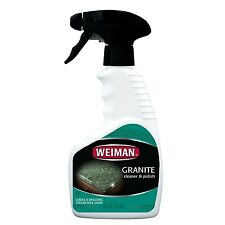 Weiman Granite / Marble / Solid Surface Countertop Spray Cleaner & Polish - 12oz