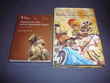 Teaching Co Great Courses DVDs    ALEXANDER THE GREAT MACEDONIAN EMPIRE +  bonus