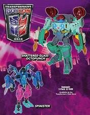 Transformers Botcon 2012 Action Figures Spinster & Octopunch Sealed Souvenir Set
