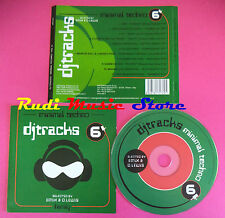 CD DJ TRACKS 6 MINIMAL TECHNO compilation no mc dvd vhs(C34)