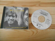 CD Indie Williams Brothers - Can't Cry Hard Enough (1 Song) Promo WARNER BROS