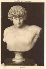 CPA - buste d' ANTINOUS - Musée du Louvre (Antinoüs)