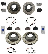 Porsche Boxster H6 3.2L 00-04 Aftermarket Complete Brake Kit with Rotors & Pads